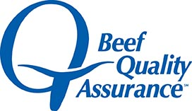 Beef Quality Assurance graphic.