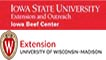 IBC wordmark and University of Wisconsin Extension graphic