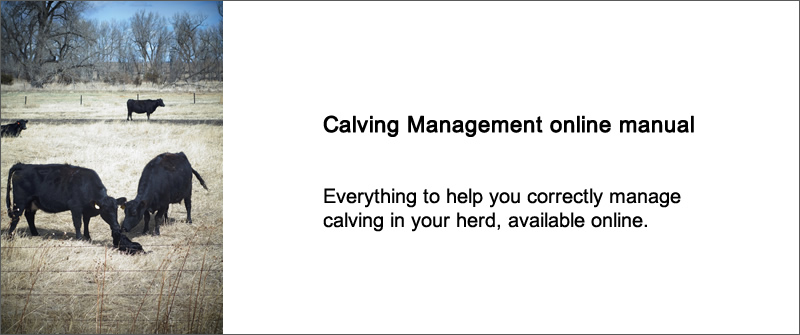 Calving Management online manual